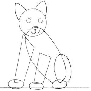 disegnare gatto_08 sm