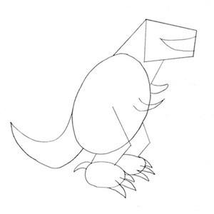 disegnare-tirranosauro_3 sm