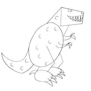 disegnare-tirranosauro_4 sm