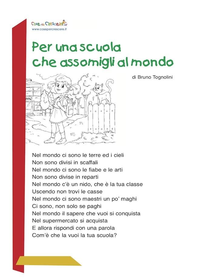 Poesia sulla scuola