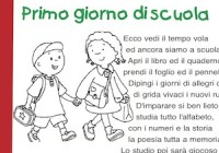 Poesie Primo Giorno Di Scuola Cose Per Crescere