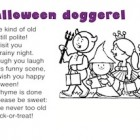 Halloween doggerel
