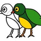 Come si disegna un uccellino