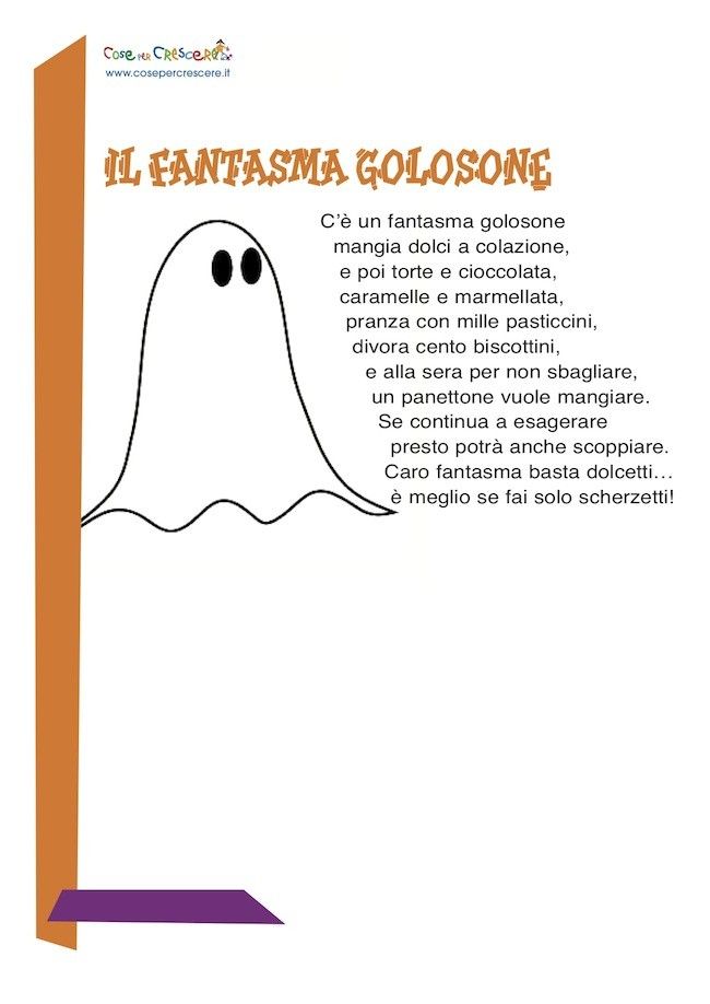 Poesia per Halloween per bambini