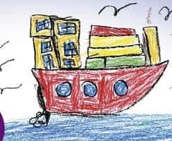 Mostra disegni bambini Cuba Milano