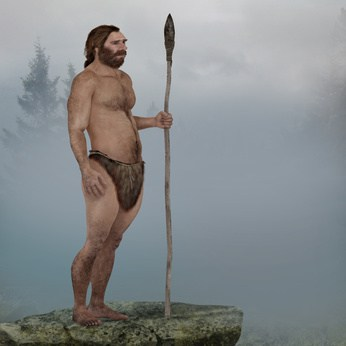 Neanderthal in the mist