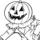 Disegno da colorare per Halloween