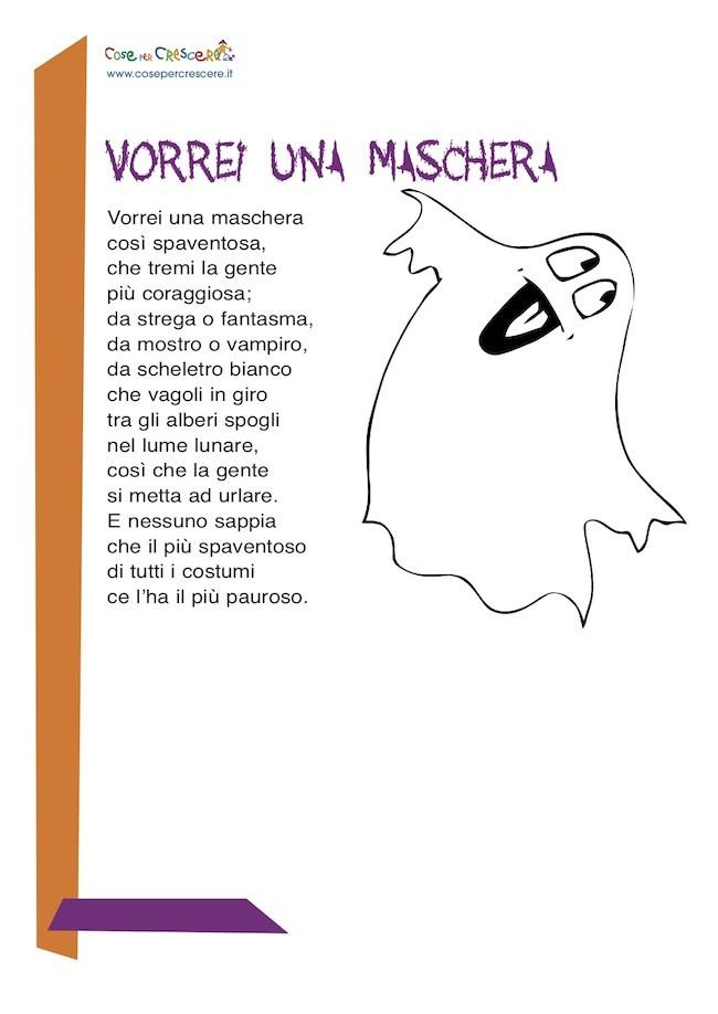Poesia Halloween per bambini