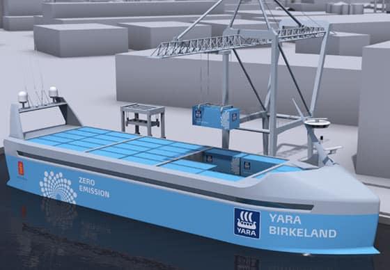 yara-nave elettrica