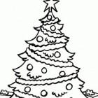 Albero di Natale da colorare