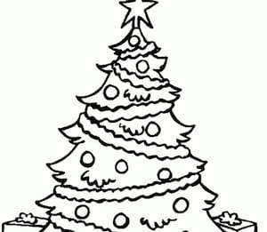 Albero Di Natale Disegno Da Colorare.Albero Di Natale Da Colorare Cose Per Crescere