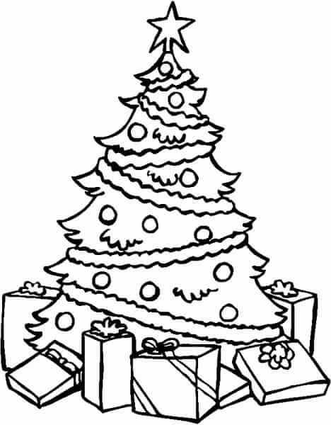 Foto Di Natale Da Colorare E Stampare.Albero Di Natale Da Colorare Cose Per Crescere