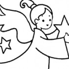 Disegno Stella Di Natale Da Colorare.Il Racconto Della Stella Di Natale