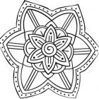 Mandala fiore