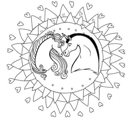Mandala Degli Unicorni Cose Per Crescere
