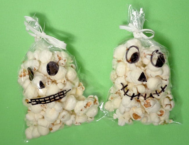 Teschi pop corn Hallowenn