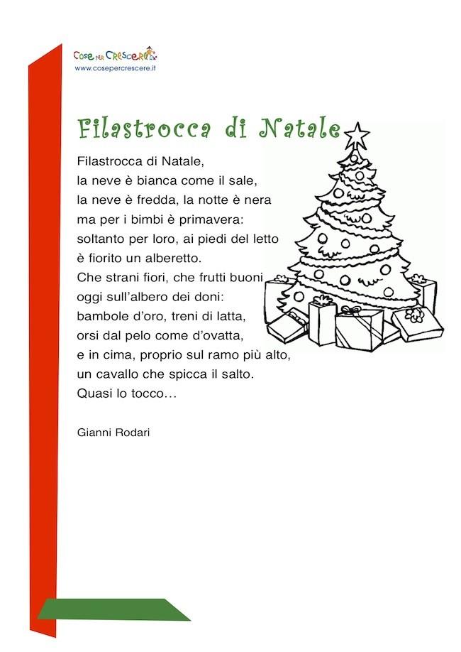 Poesia Di Natale Per Bambini 2 Anni.Filastrocca Di Natale Cose Per Crescere