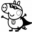 Disegno di George Pig