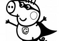 Disegni Di Peppa Pig Da Colorare Immagini Di Peppa Pig Da Stampare
