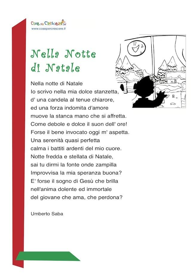 Immagini Poesie Di Natale.Nella Notte Di Natale Poesia Per Natale