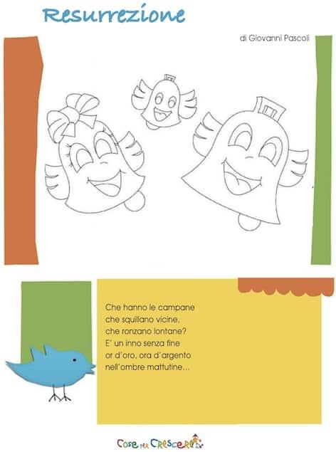 resurrezione, poesia per bambini