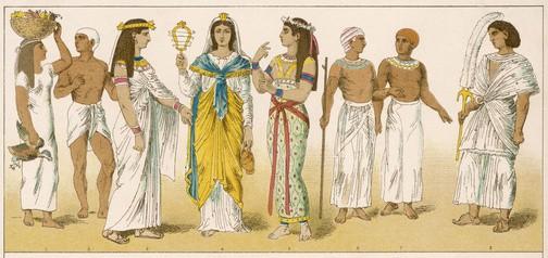Vestiti antichi egizi