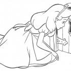 Disegno di Alice nel paese delle Meraviglie