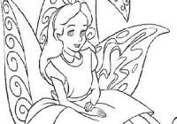 Disegni Di Alice Nel Paese Delle Meraviglie Da Stampare E Colorare
