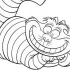 Disegno del Gatto del Gheshire: Stregatto
