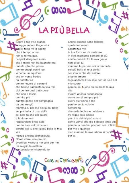 La più bella: canzone per la mamma - Anna Tatangelo