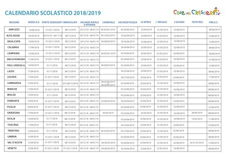 Calendario Scolastico 2020 20 Trento.Calendario Scolastico Trentino 2019 2019 Ikbenalles