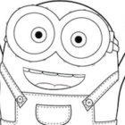 Minion Bob: disegno da colorare