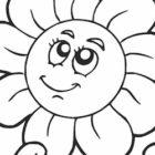 Disegno di fiore semplice