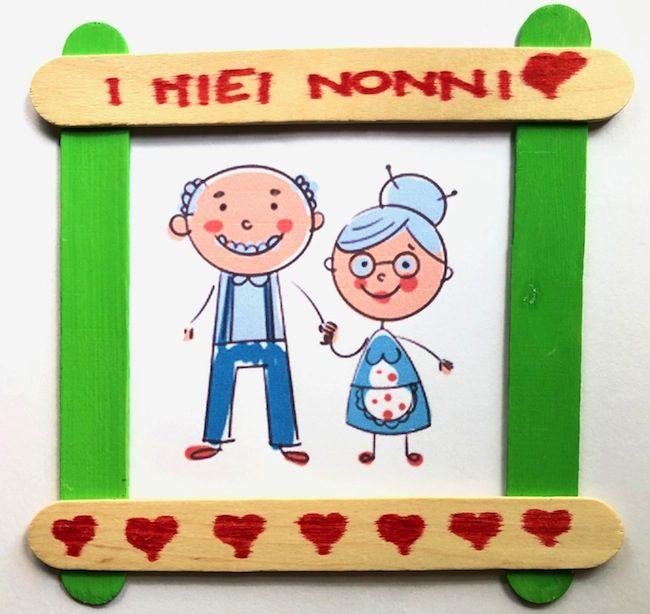 Calendario Festa Dei Nonni.Ritratto Dei Nonni Lavoretto Per Bambini Per Il 2 Ottobre