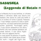 Babushka (Leggenda di Natale russa)
