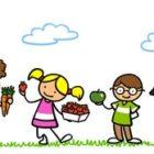 Frutta e verdura entrano in classe