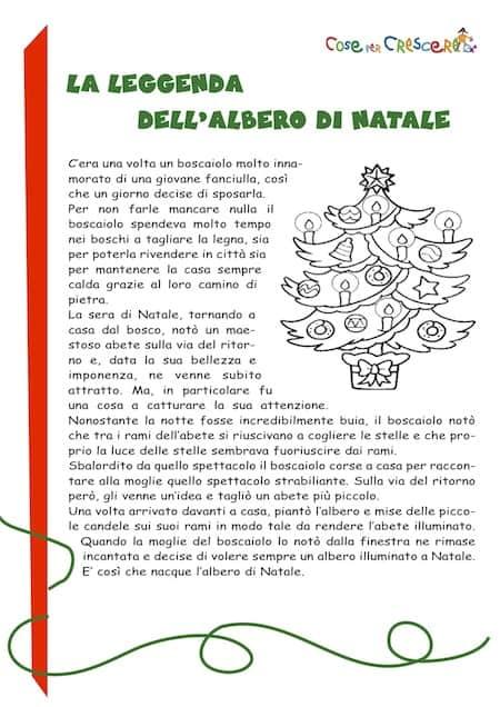 La Leggenda Dell Albero Di Natale Storia Per Bambini