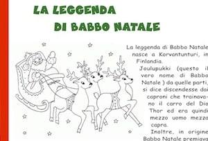 Storia Babbo Natale Bambini.La Leggenda E Storia Di Babbo Natale Secondo La Tradizione Finlandese