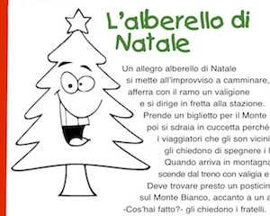 Poesie Di Natale In Inglese Per Bambini.L Alberello Di Natale Poesia Di Natale Per Bambini Scuola Primaria