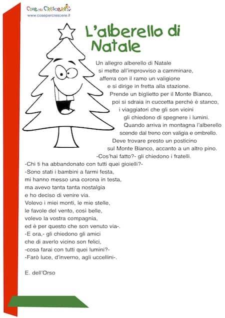 Una poesia di natale per bambini scritta da e dell orso for Storie di natale per bambini