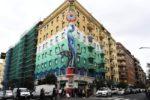 Il murale vince sull'inquinamento