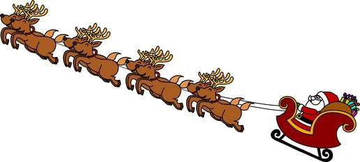 Immagini Di Renne Di Babbo Natale.Come Si Chiamano Le Renne Di Babbo Natale I Nomi Cose