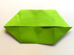 Forma base origami: doppia barca