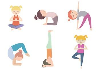 Auguri Di Natale Yoga.Le Posizioni Di Yoga Per Bambini Cose Per Crescere