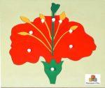 Un fiore puzzle: metodo Montessori