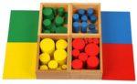 Scatola di cilindri: metodo Montessori