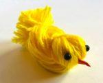 Pulcino di lana per Pasqua