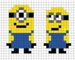 Minion in Pixel Art