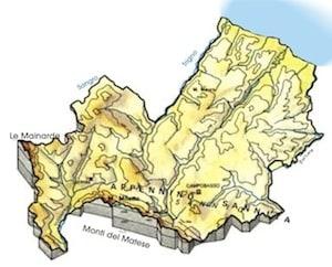 Cartina Del Molise Geografica.Cartina Fisica Molise Da Stampare Gratis Scuola Primaria Carta Geografica