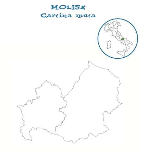Cartina Del Molise Geografica.Cartina Muta Molise Da Stampare Gratis Scuola Primaria Carta Geografica